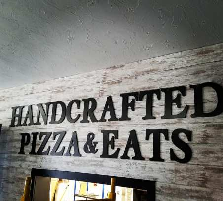 handcrafted pizza and eats